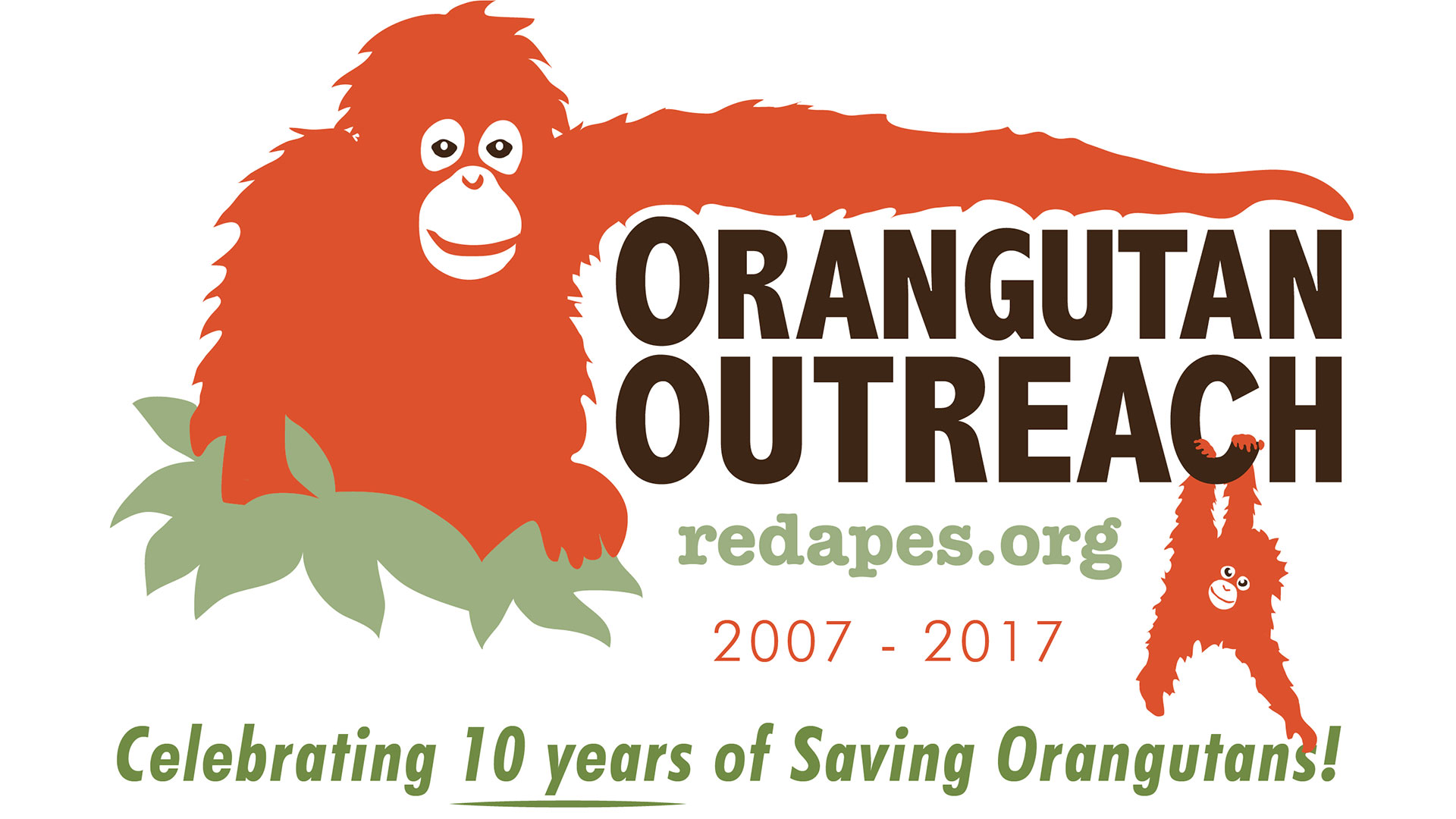 Orangutan Outreach - Celebrating 10 years of Saving Orangutans!