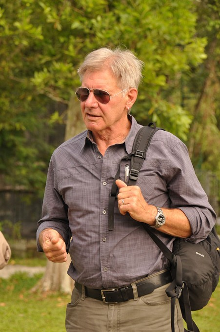 Harrison Ford Visits Nyaru Menteng