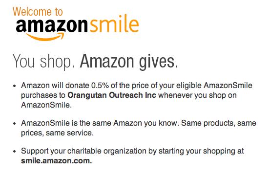 Amazon Smiles!